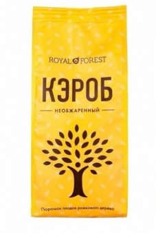 кэроб сырой royal forest, 200г интернет магазин